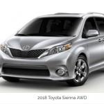 2019 Toyota Sienna AWD